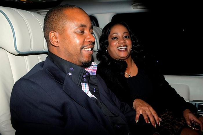 LoveBirds: Hassan Nyangoni and wife Munyaradzi Sajanga