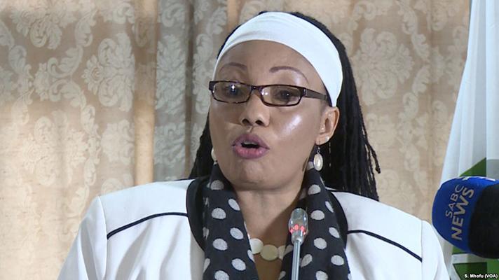 High Court judge Justice Priscilla Chigumba (Picture by VOA)
