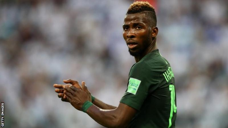 Leicester City's Kelechi Iheanacho has struggled for form this season for both club and country.