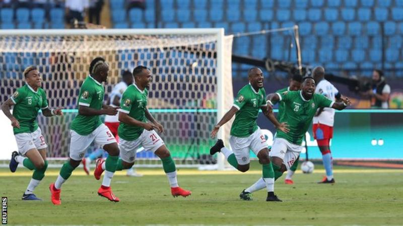 Madagascar were 190th in Fifa's world rankings five years ago