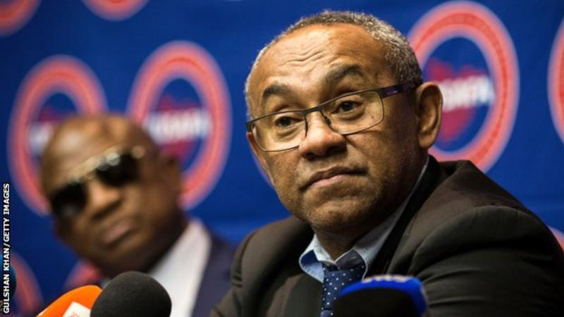 Mr Ahmad has been the president of Caf since March 2017