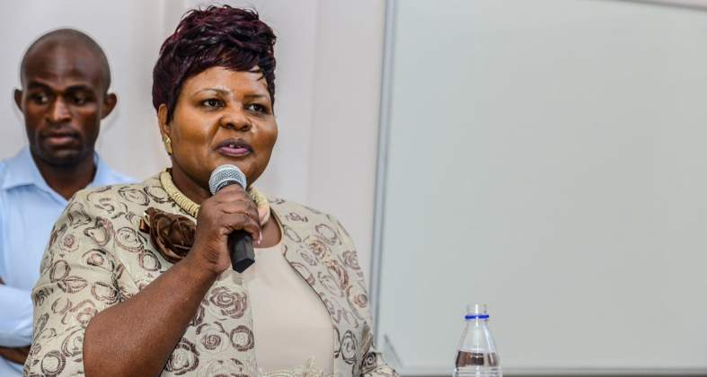 Manicaland Provincial Affairs minister Ellen Gwaradzimba