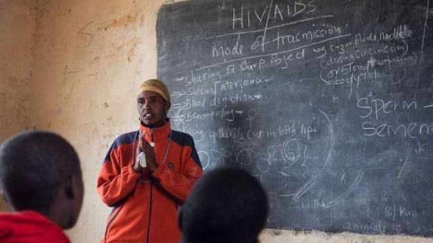 Campaigners feel Kenya needs to be more open about discussing HIV (Getty Images)