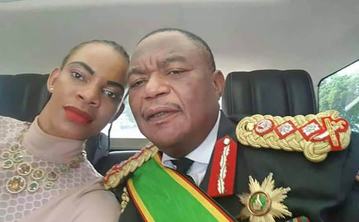 Vice-President Constantino Guveya Chiwenga and wife Marry