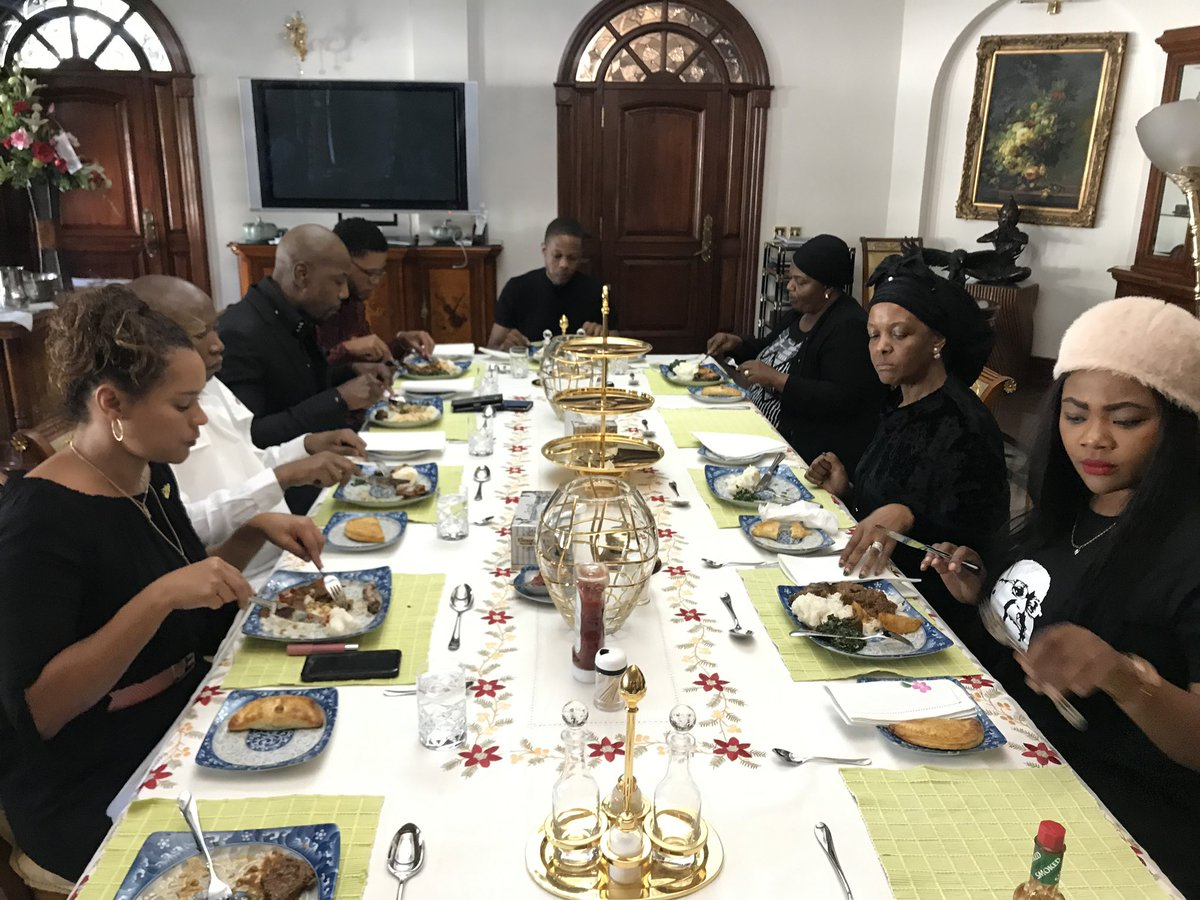 A fine feast indeed – Photo: EFF / Twitter