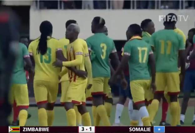Zimbabwe survive Somalia scare in World Cup qualifier
