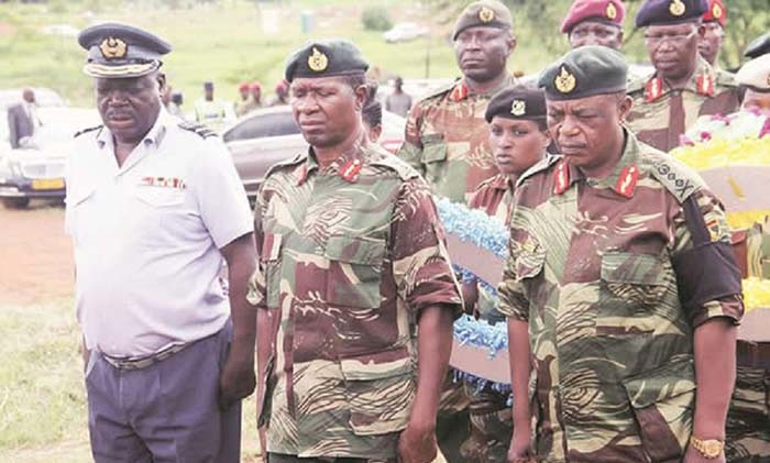 Vice President, Rtd General Constantino Chiwenga's military generals who were key in executing the November 2017 coup against President Robert Mugabe, have allegedly declared war on President Emmerson Mnangagwa, and are said to be a step closer in launching another military operation to relieve Mnangagwa of his duties, Spotlight Zimbabwe, has been told.