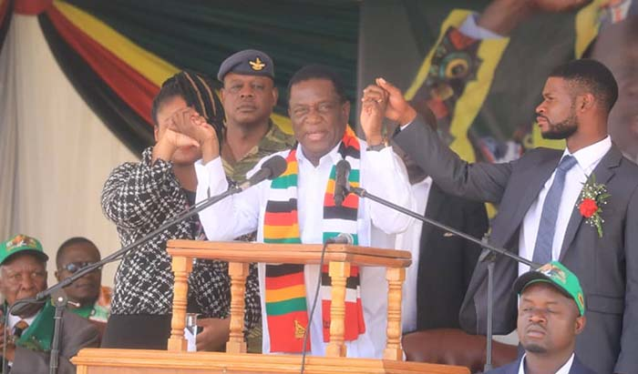 President Emmerson Mnangagwa was left a relieved man after thousands of people from Mashonaland East province thronged Mahusekwa Growth Point where he addressed a rally that coincided with the official opening of Mahusekwa District Hospital.