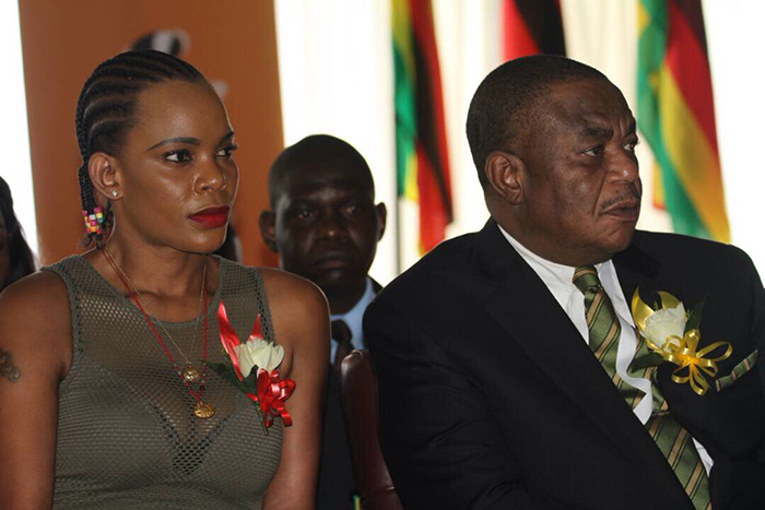Marry Chiwenga, the estranged wife of Vice President Constantino Chiwenga