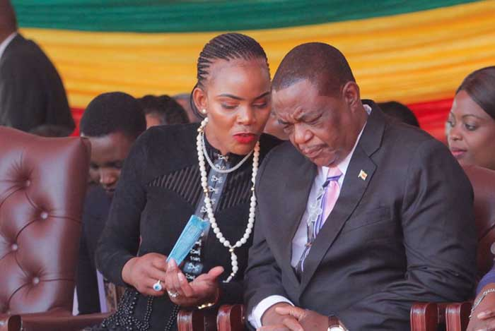 Constantino Chiwenga and estranged wife Marry Chiwenga