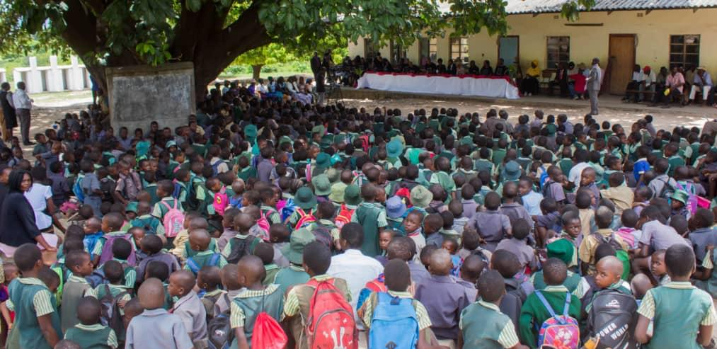 Parents and pupils at Bota Primary School in Masvingo could not believe their luck after being told that prominent businessman/preacher Uebert Angel and his wife Beverly had paid their school fees including levies – for the whole year.